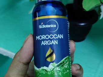 St.Botanica Moroccan Argan Hair Serum pic 2-Good product-By beautywithtabs