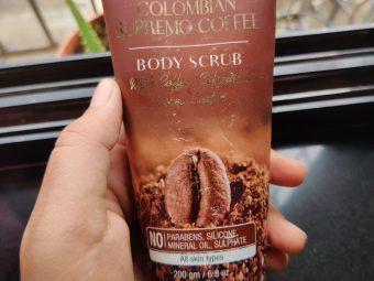 St.Botanica Colombian Supremo Coffee Body Scrub -Perfect Body Scrub-By tanya_bhutani