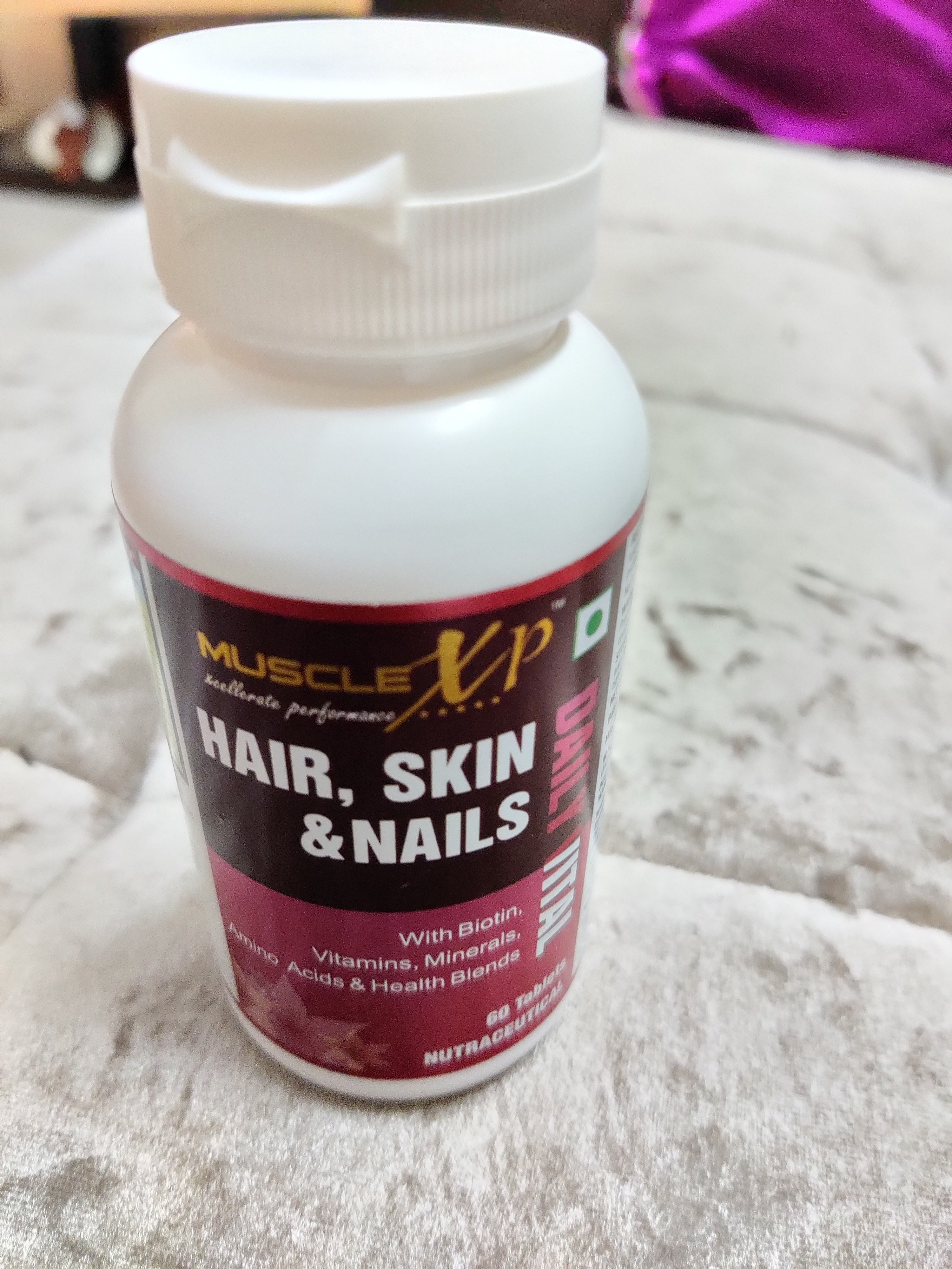 MuscleXP Biotin Hair, Skin & Nails Complete MultiVitamin With Amino Acids -For amazing hair and skin-By vaishali_teotia
