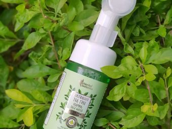 Oriental Botanics Australian Tea Tree Foaming Face Wash pic 1-This product really helps your skin-By lenzzstruck