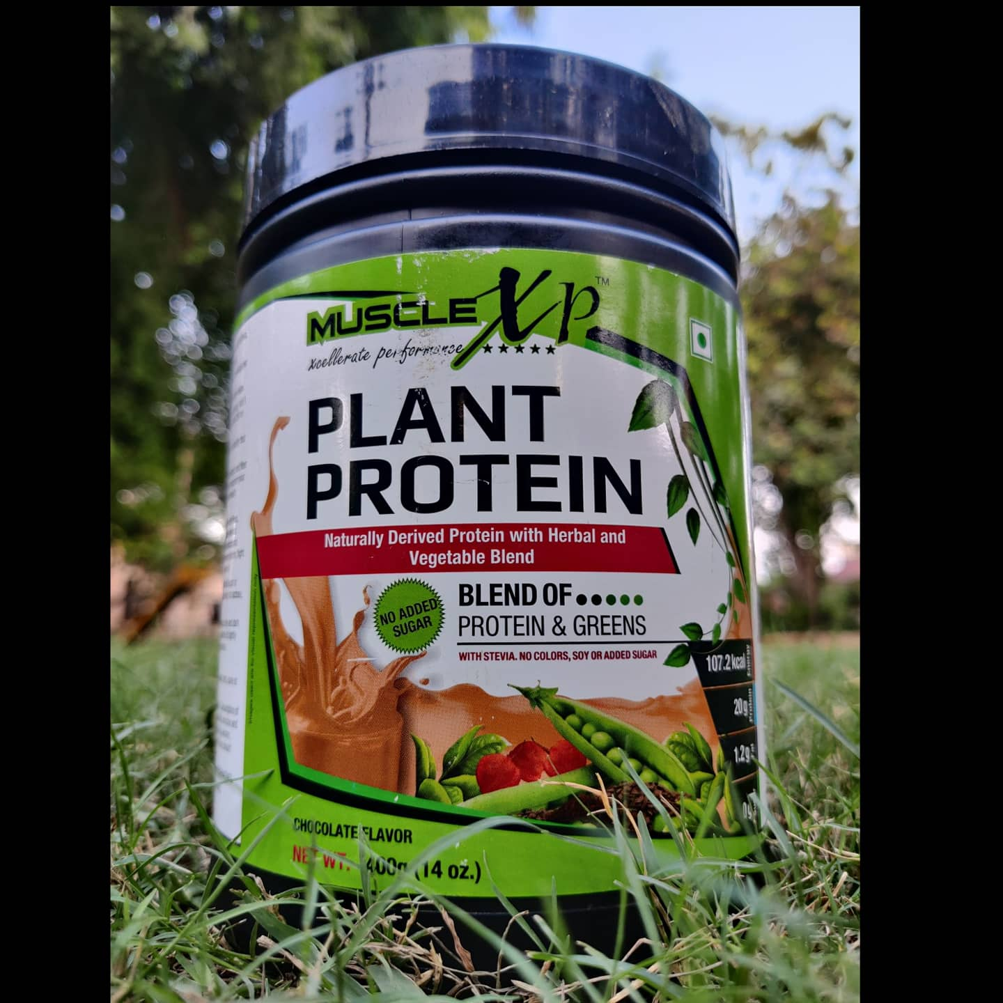 MuscleXP Plant Protein Powder-Good in taste-By nikvohra3n1