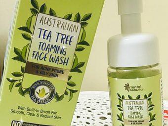 Oriental Botanics Australian Tea Tree Foaming Face Wash -Amazing product-By samridhi_sharma