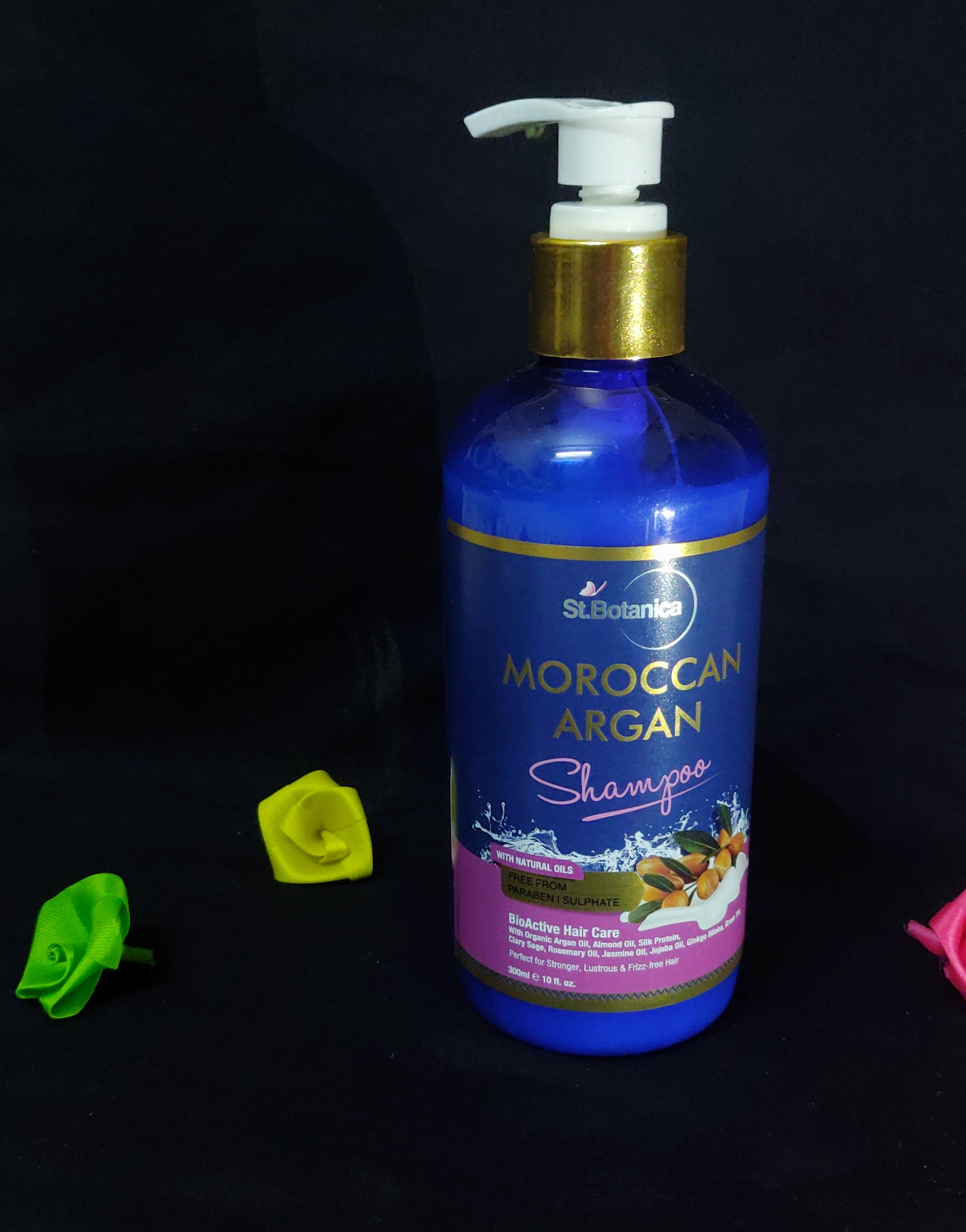 StBotanica Moroccan Argan Hair Shampoo-Perfect product for Frizzy Hair-By angs-1