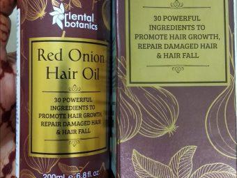 Oriental Botanics Red Onion Hair Growth Oil -Non sticky Oil-By pallavi_harsh