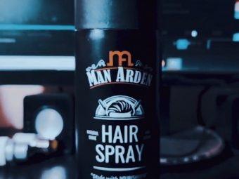 Man Arden Hair Spray pic 3-Perfect Spray for the perfect look-By abhrajyoti