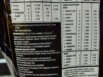 MuscleXP Original Whey Isolate Protein 90% With Digestive Enzyme pic 3-A Great protein-By hkmurali
