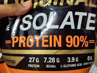 MuscleXP Original Whey Isolate Protein 90% With Digestive Enzyme pic 1-A Great protein-By hkmurali