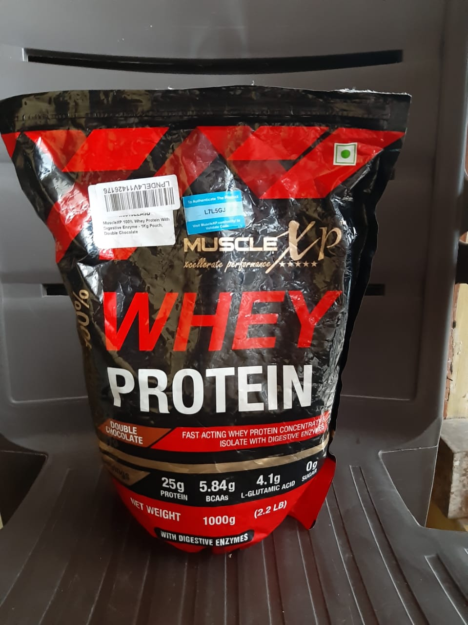 MuscleXP 100% Whey Protein With Digestive Enzyme-Awesome product-By chiraghodake
