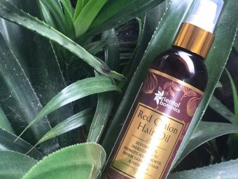 Oriental Botanics Red Onion Hair Growth Oil -Best hair oil for preventing hairfall-By beauty__diaries