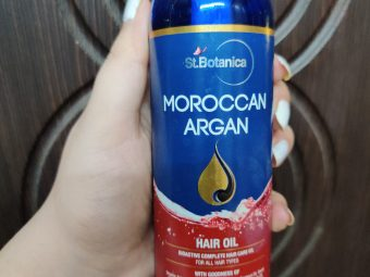St.Botanica Moroccan Argan Hair Growth Oil pic 3-Blend of all neccesary natural oils-By anniearora