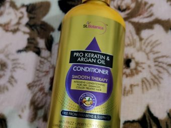StBotanica Pro Keratin & Argan Oil Conditioner -Worth trying-By gracious_moni