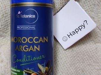 St.Botanica Professional Moroccan Argan Conditioner -Good conditioner-By shalakaempathy