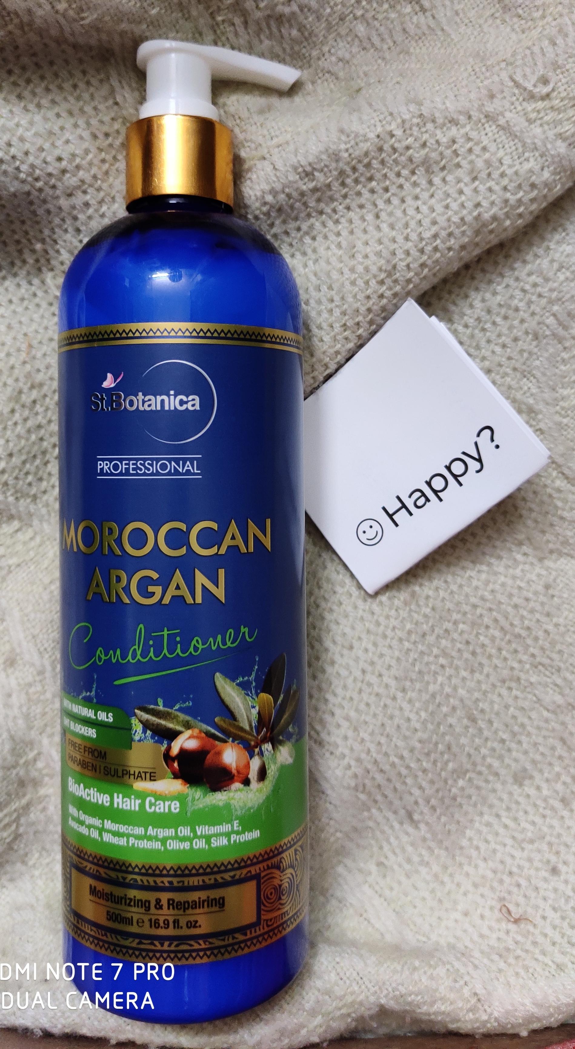 St.Botanica Professional Moroccan Argan Conditioner-Good conditioner-By shalakaempathy