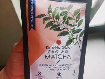 Kimino Gold Matcha Ceremonial Grade Green Tea Powder -Best green tea I have ever used-By krimta