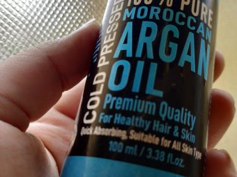 WishCare Pure Cold Pressed Moroccan Argan Oil pic 2-nourishing healing-By bractbeauty