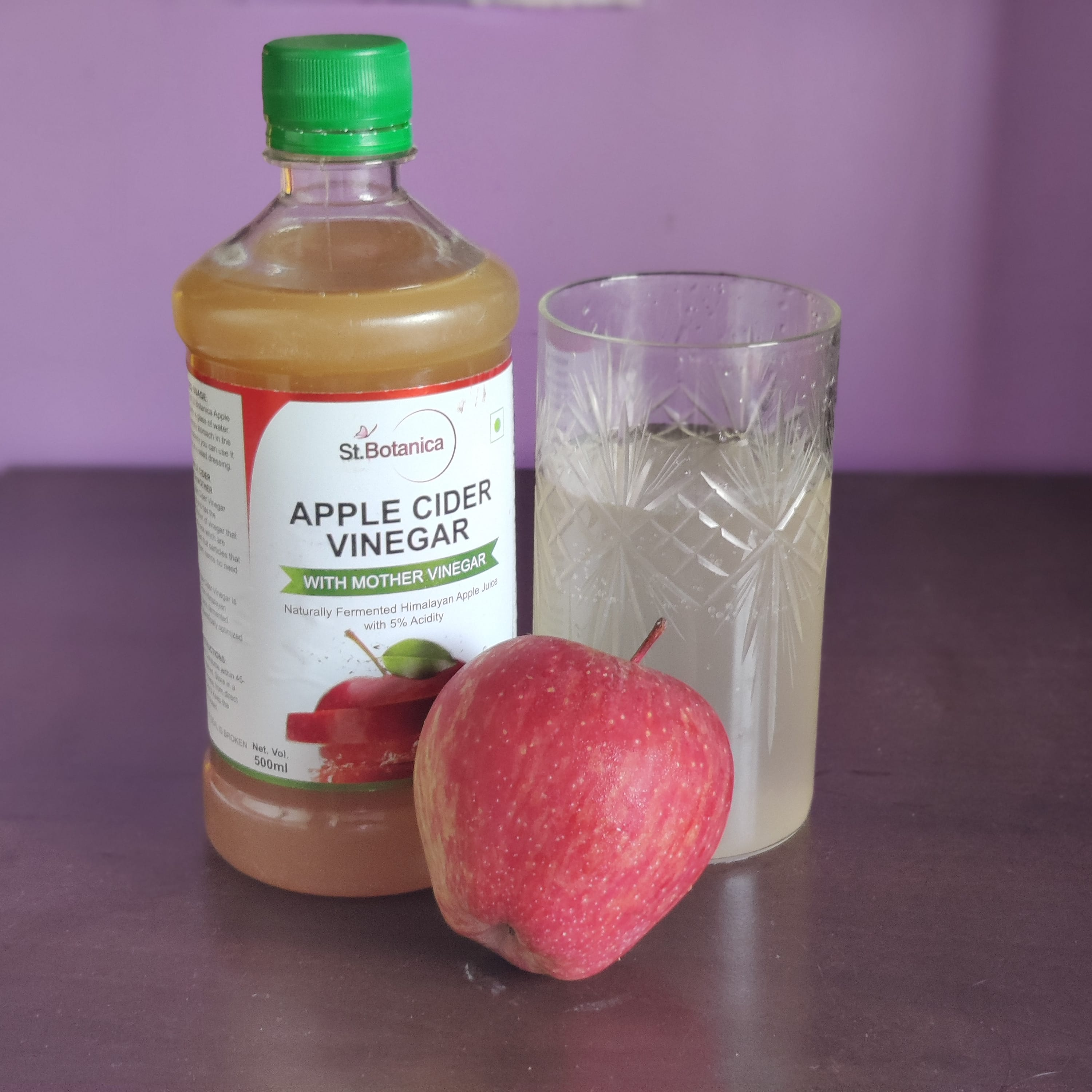 St Botanica Apple Cider Vinegar -A great Antioxidant-By nikichoudhury