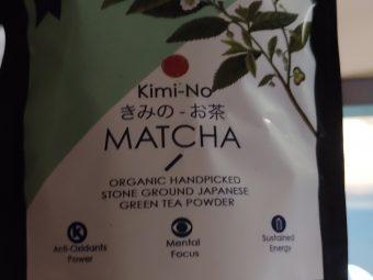 Kimino Japanese Organic Matcha Green Tea Powder -Antioxidant-By aradhna