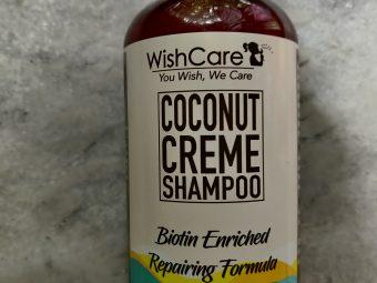WishCare Coconut Creme Shampoo With Biotin -Goodness of coconut and biotin-By samridhi_singh