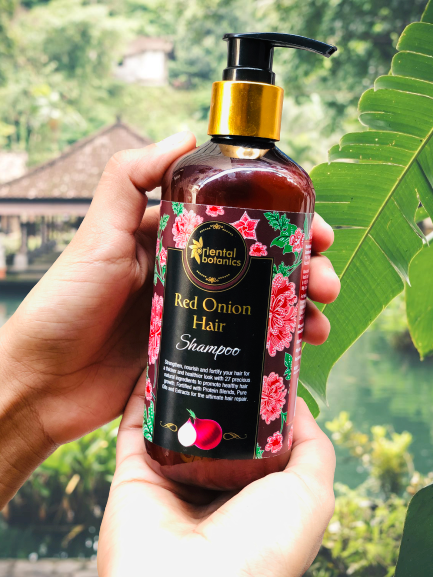 Oriental Botanics Red Onion Hair Shampoo-I like this Shampoo – Highly Recommended-By sargun_bhatia
