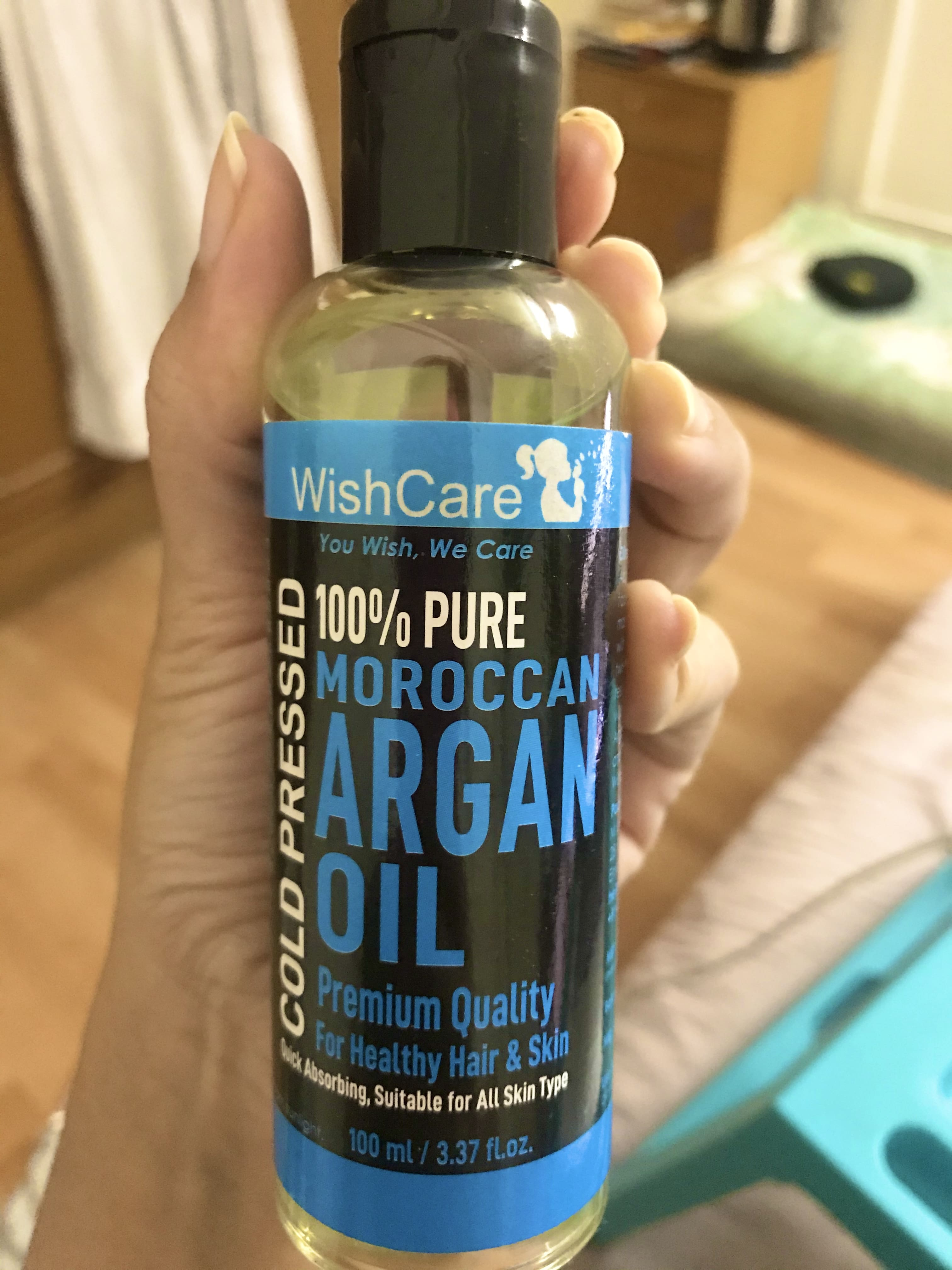WishCare Pure Cold Pressed Moroccan Argan Oil-Best Oil i have used till now-By kalpana_funde