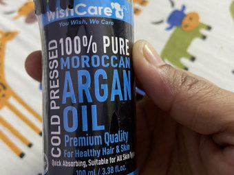 WishCare Pure Cold Pressed Moroccan Argan Oil pic 2-Amazing Cold Pressed Oil for my Skin and Hair !!-By gargiv
