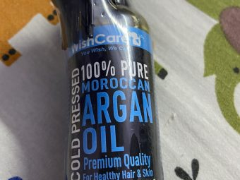 WishCare Pure Cold Pressed Moroccan Argan Oil pic 1-Amazing Cold Pressed Oil for my Skin and Hair !!-By gargiv