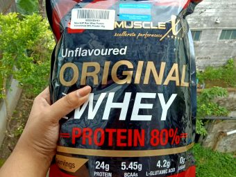 MuscleXP Raw Whey Protein 80% Powder Unflavoured pic 1-Amazing for beginners.-By rweehma