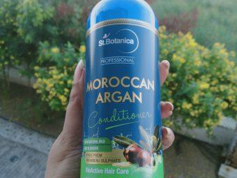 St.Botanica Moroccan Argan Hair Conditioner -Scalp friendly-By karthiga