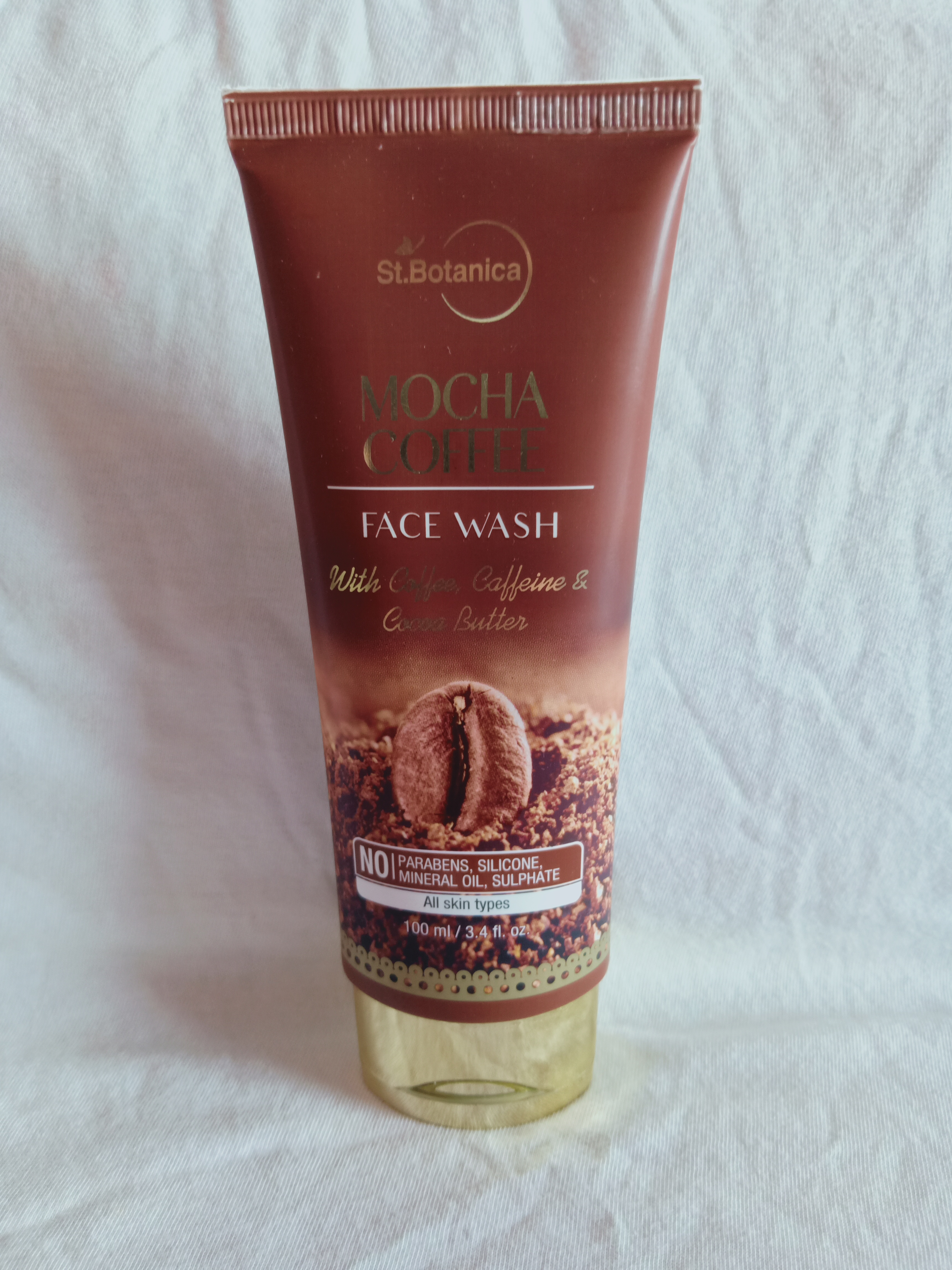 St.Botanica Mocha Coffee Face Wash-I love this product-By jhashruti