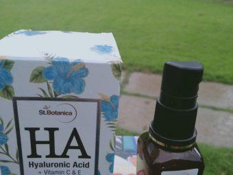 St.Botanica Hyaluronic Acid Facial Serum + Vitamin C, E -Hydraulic with vitamin c-By karthiga