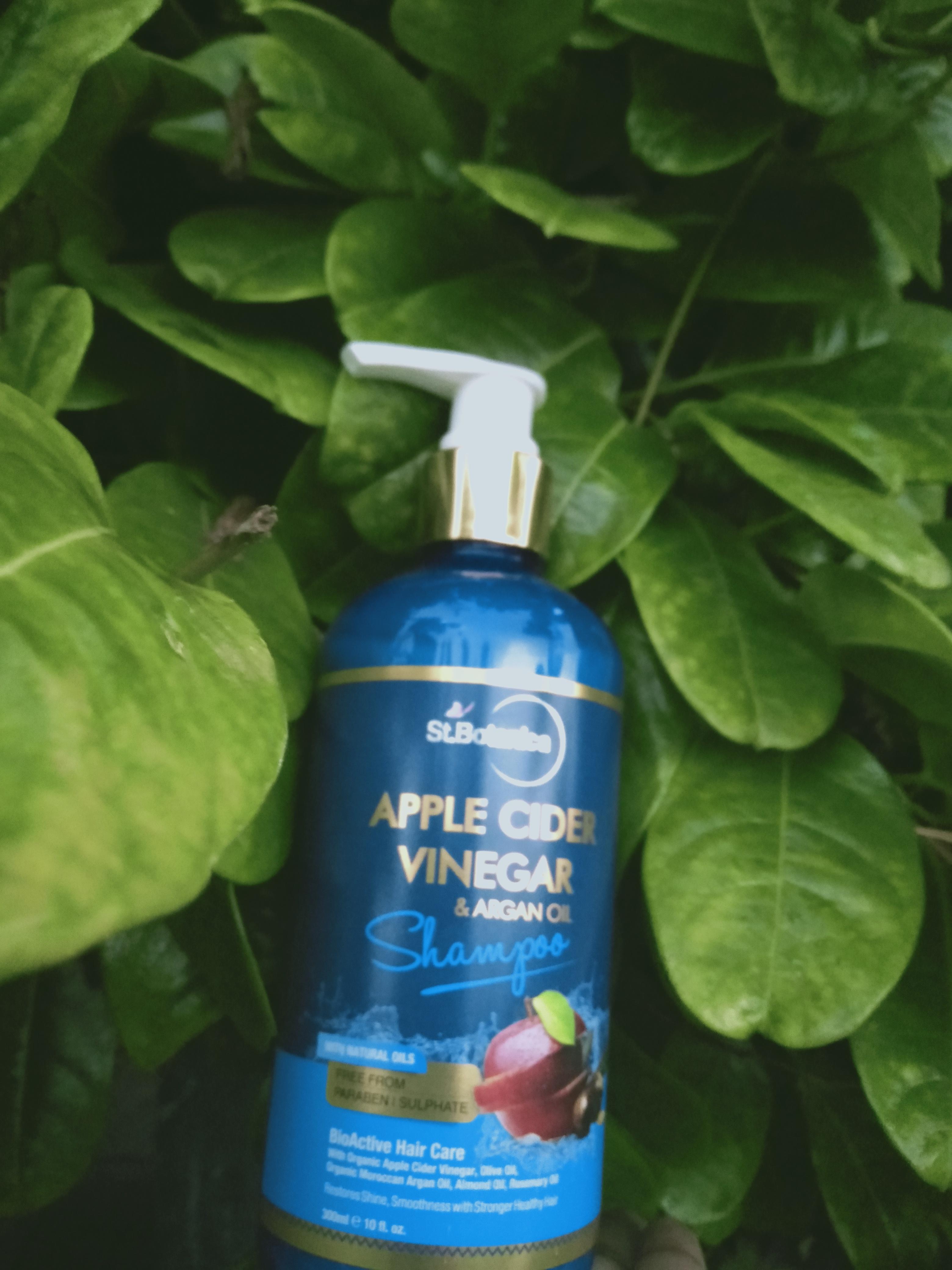 St.Botanica Apple Cider Vinegar & Argan Oil Hair Shampoo-Good for dandruff-By karthiga-2