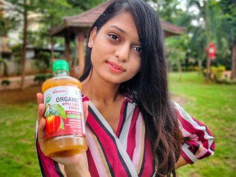 St.Botanica USDA Organic Apple Cider Vinegar -Multiple benefits for hair and skin!-By arshin