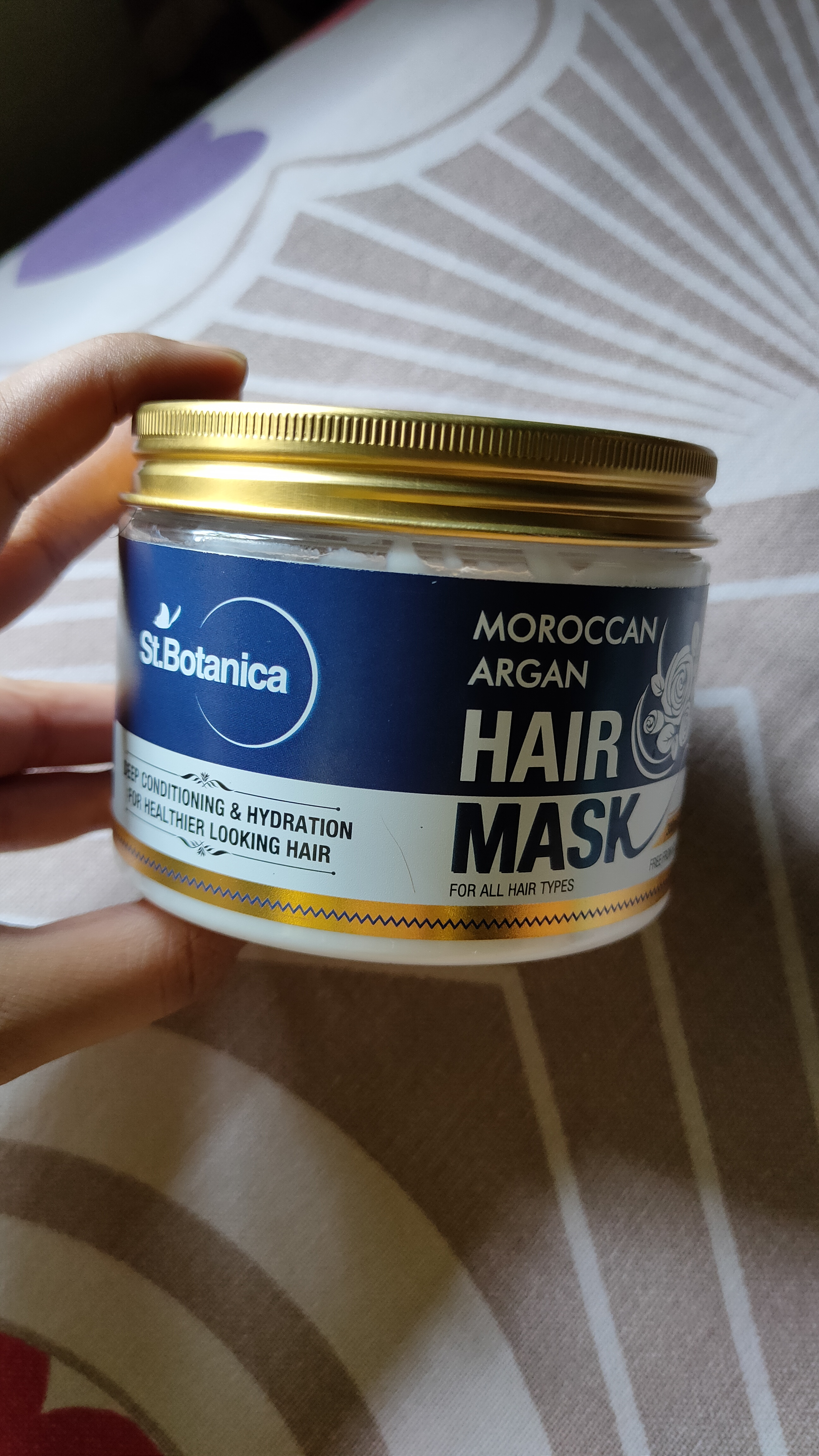 St.Botanica Moroccan Argan Hair Mask-Great Conditioner-By theeyesthatshin-5