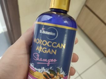 StBotanica Moroccan Argan Hair Shampoo -One of the best shampoo-By ayeshakhan