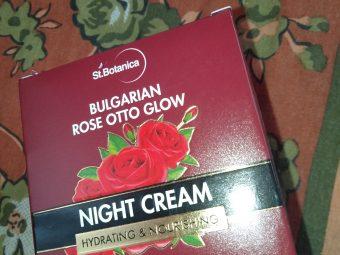 St.Botanica Bulgarian Rose Otto Glow Night Cream -So moisturizing-By indranireviews