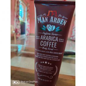 Man Arden Caffeine Series Arabica Coffee Body Scrub -Best coffee body scrub-By mrutyunjay_sahu