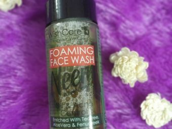 WishCare Foaming Neem Face Wash -really nice one-By beyond_life_ordinary_