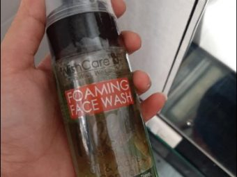 WishCare Foaming Neem Face Wash -Feels fresh and reduces oil on face-By sonajain