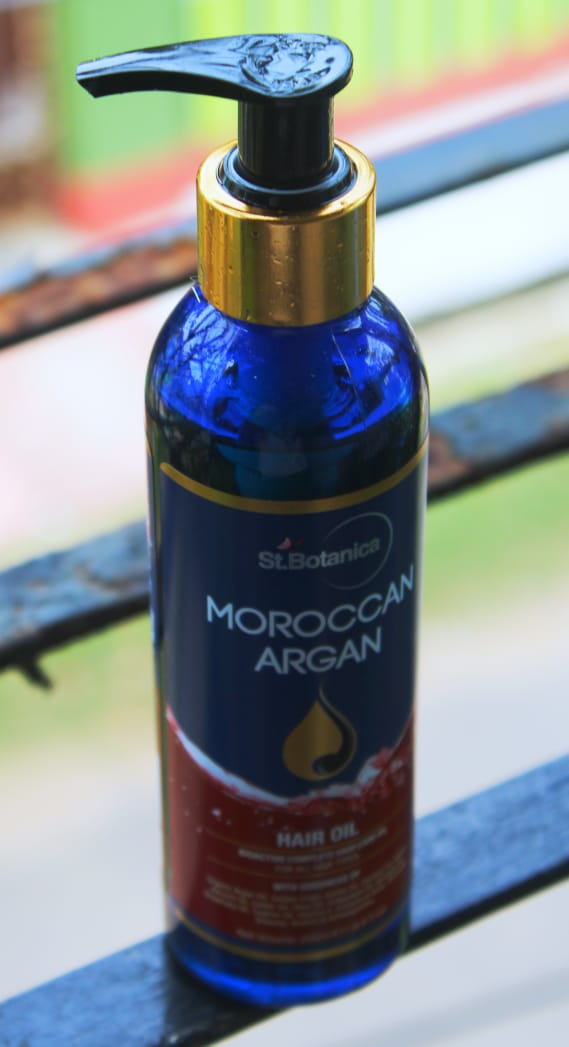 St.Botanica Moroccan Argan Hair Growth Oil pic 1-best oil for hair-By sassy_supriyo