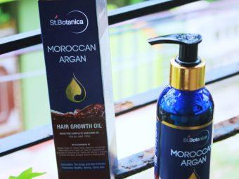 St.Botanica Moroccan Argan Hair Growth Oil pic 2-best oil for hair-By sassy_supriyo