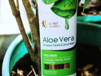 Oriental Botanics Aloe Vera, Green Tea & Cucumber Face Mask pic 1-best face mask for oily skin-By sassy_supriyo