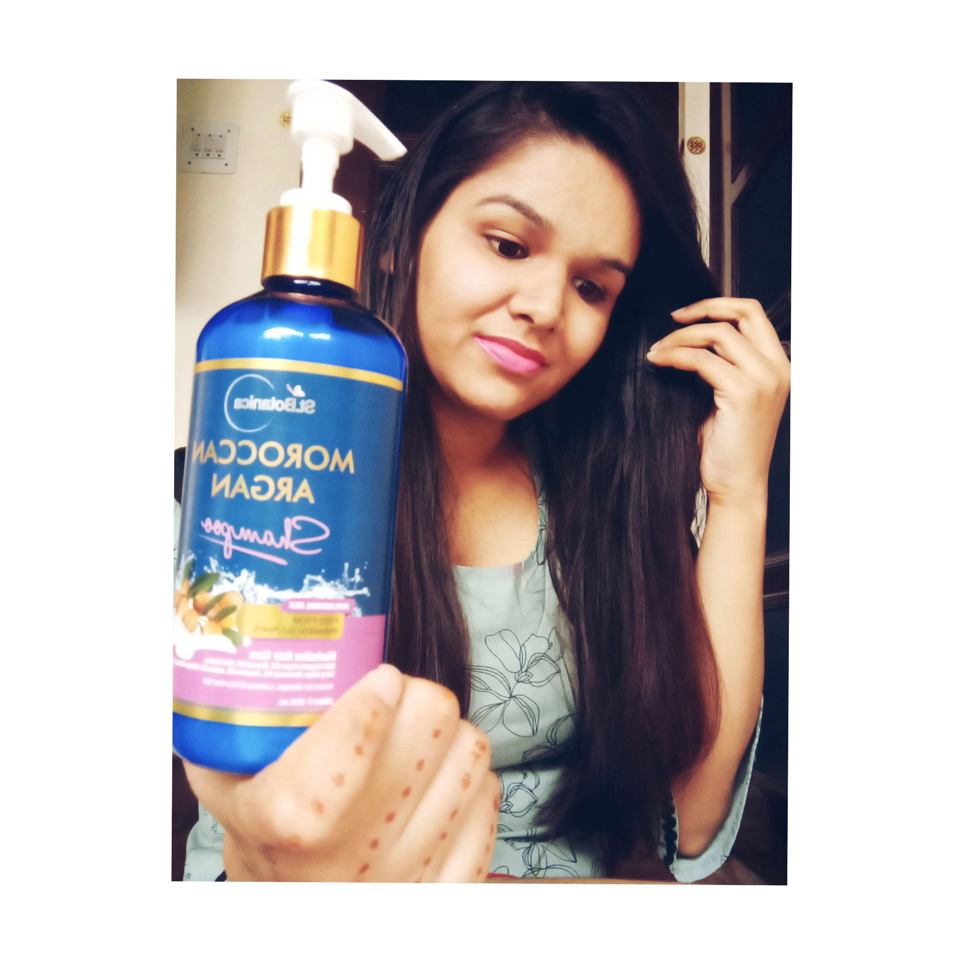 StBotanica Moroccan Argan Hair Shampoo-So good and nice product-By _mansi_shekhawat_