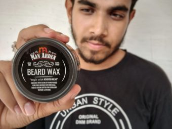 Man Arden Beard Wax – Strong Hold with Matte Finish pic 2-Such a great product.-By sanjaylodhi
