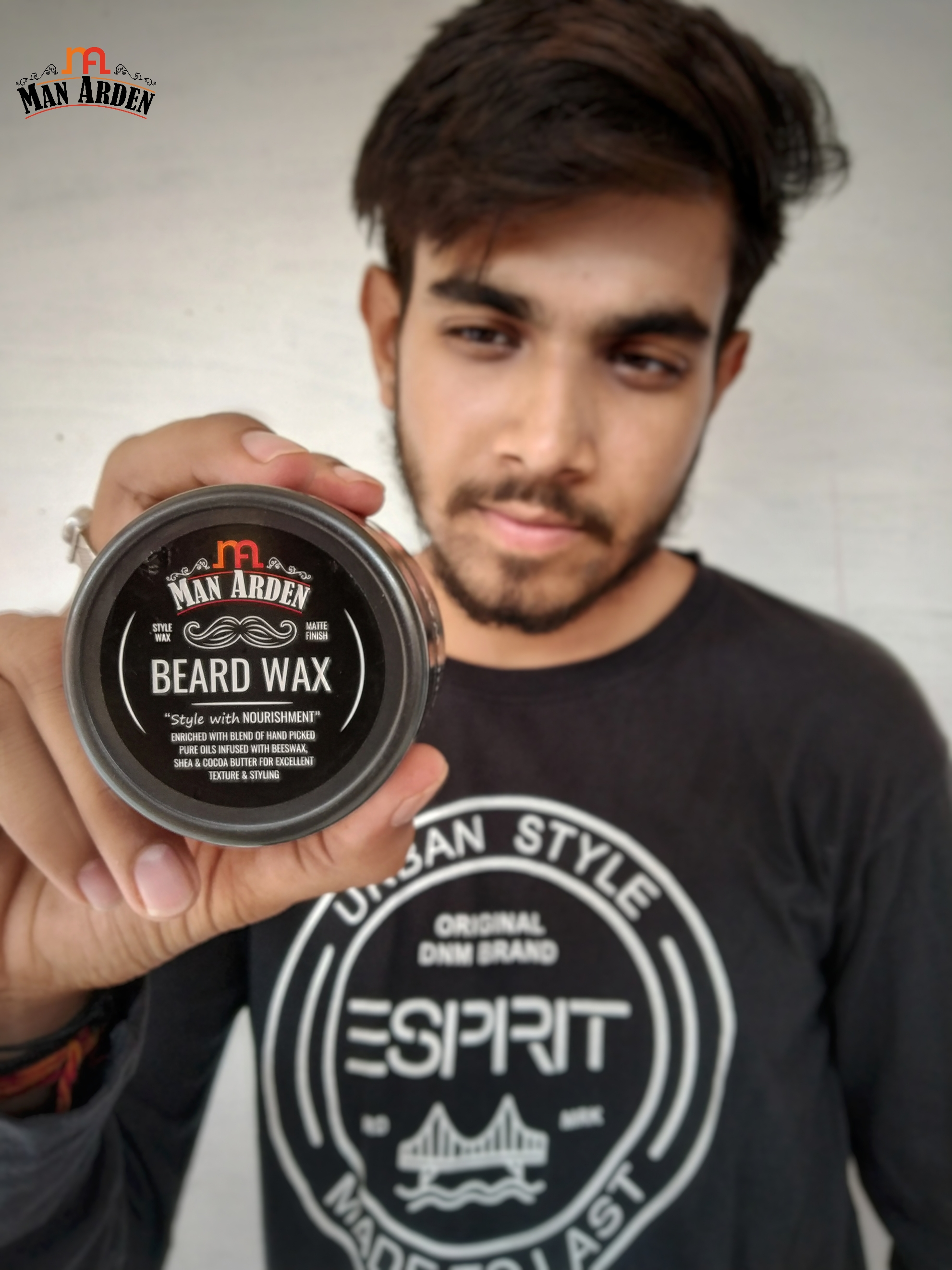 Man Arden Beard Wax – Strong Hold with Matte Finish-Such a great product.-By sanjaylodhi-2