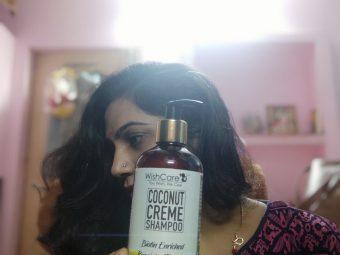 WishCare Coconut Creme Shampoo With Biotin -Amazing on hair-By shivani_soni
