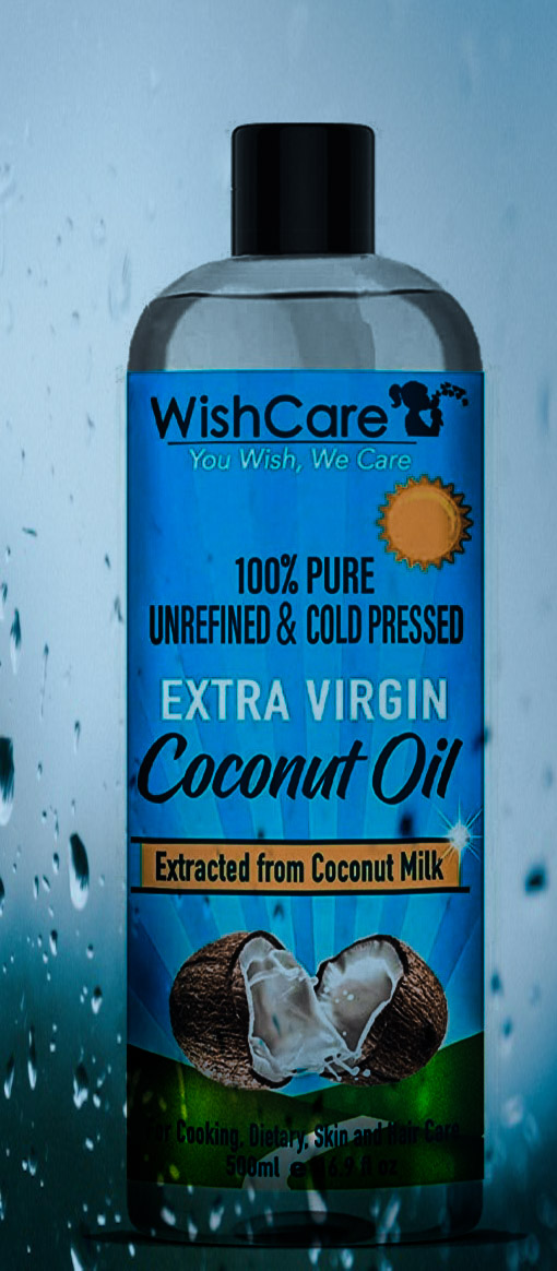 WishCare Cold Pressed Extra Virgin Coconut Oil-Valuable product-By ankitha_rajani