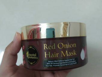 Oriental Botanics Red Onion Hair Mask -Onion hair mask review-By dhwani_thakkar