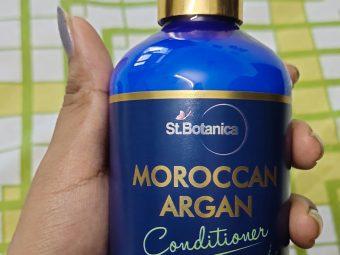 St.Botanica Moroccan Argan Hair Conditioner -Made my hair so smooth-By shivani_punyani