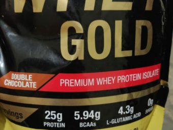 MuscleXP Whey Gold Protein – Premium Whey Protein Isolate with Digestive Enzymes pic 2-Good for gaining weight-By anurag_verma