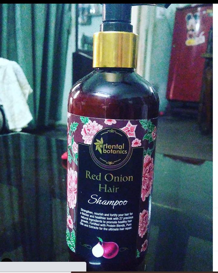Oriental Botanics Red Onion Hair Shampoo-Best Hair Onionin Shampoo-By charu03